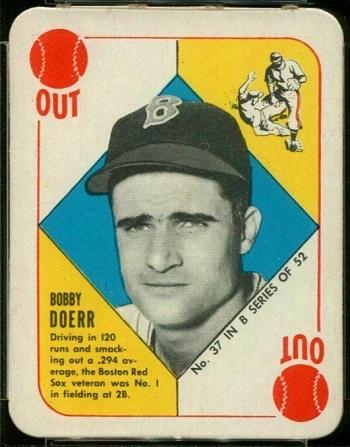 1951 Topps Blue Back Bobby Doerr
