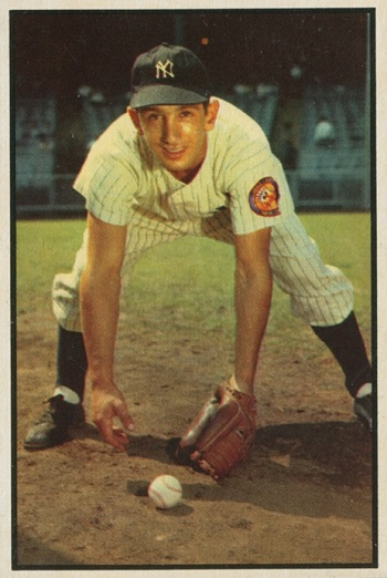 1953 Bowman Billy Martin
