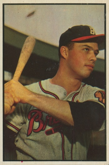 1953 Bowman Eddie Mathews