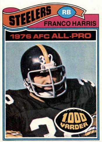 1977 Topps Franco Harris