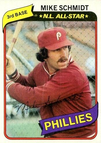 1980 Topps Mike Schmidt