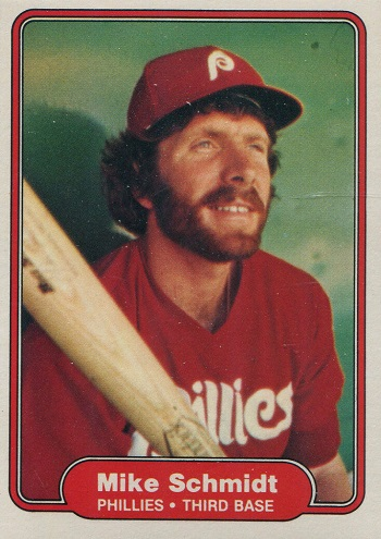 1982 Fleer Mike Schmidt
