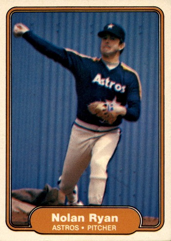 1982 Fleer Nolan Ryan