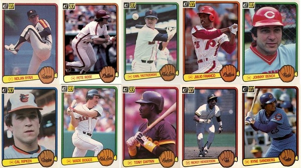 1983 Donruss Baseball Cards – 10 Most Valuable