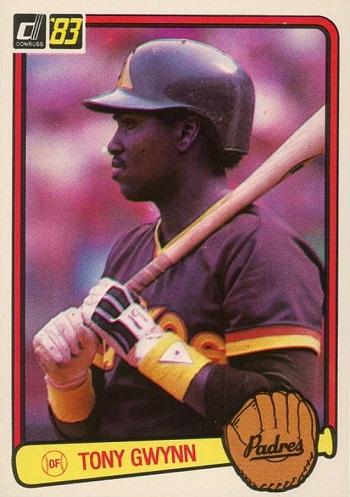 1983 Donruss Tony Gwynn Rookie Card