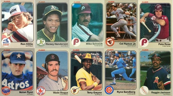 1983 Fleer Baseball Cards – 10 Most Valuable