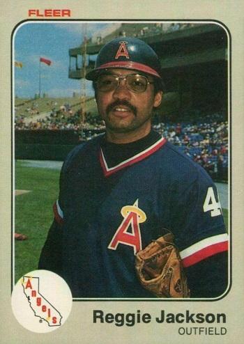 1983 Fleer Reggie Jackson