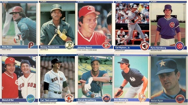 1984 Fleer Baseball Cards – 10 Most Valuable
