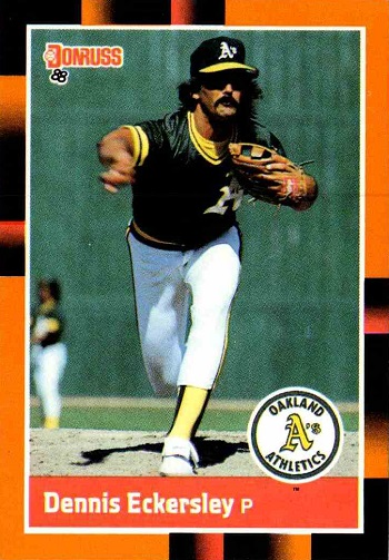 1988 Donruss Baseballs Best Dennis Eckersley