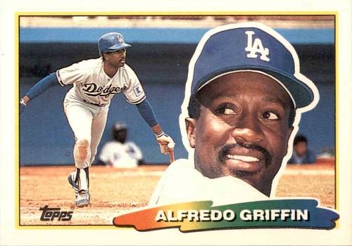 1988 Topps Big Alfredo Griffin