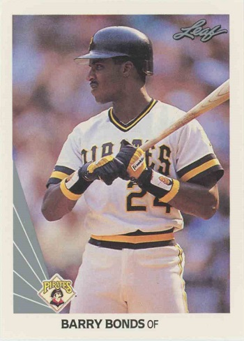 1990 Leaf Barry  Bonds
