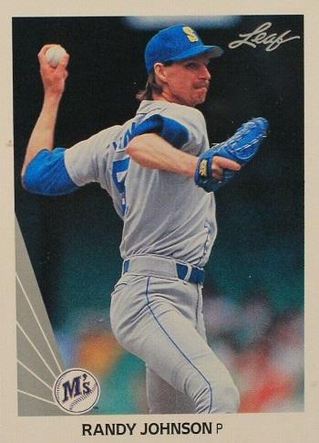 1990 Leaf Randy  Johnson