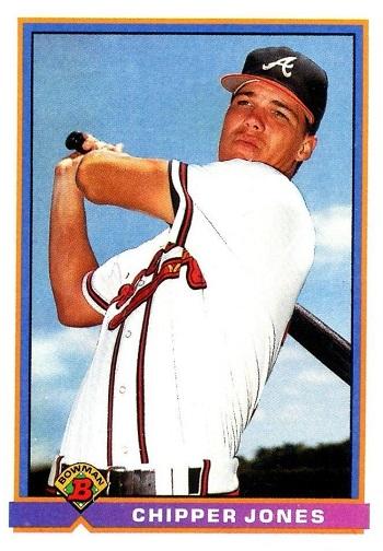 1991 Bowman Chipper Jones Rookie Card