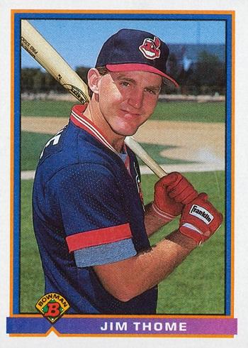 1991 Bowman Jim Thome Rookie Card