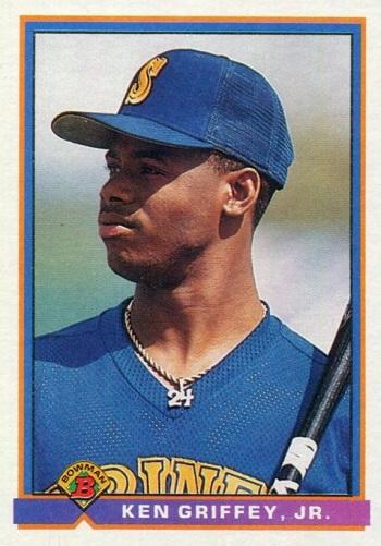 1991 Bowman Ken Griffey Jr