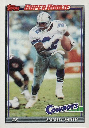 1991 Topps Emmitt Smith Rookie Card