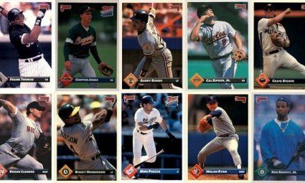 1993 Donruss Baseball Cards – 10 Most Valuable