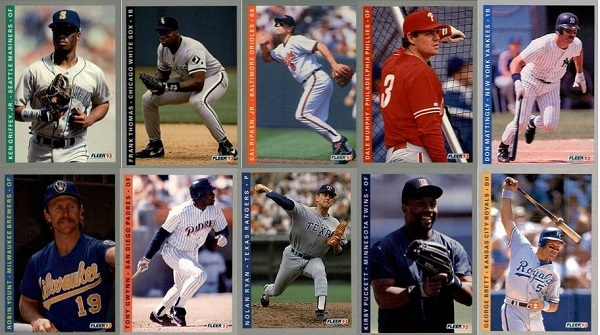 1993 Fleer Baseball Cards – 10 Most Valuable