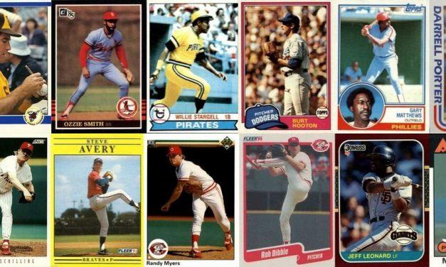 NLCS MVP Winners – Best Baseball Cards from 1977 through 1993