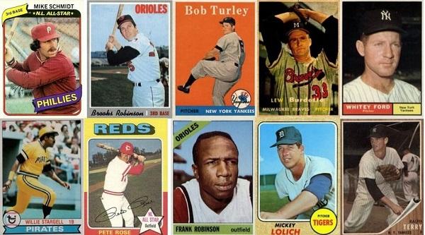 World Series MVP Baseball Cards — 1955 through 1980