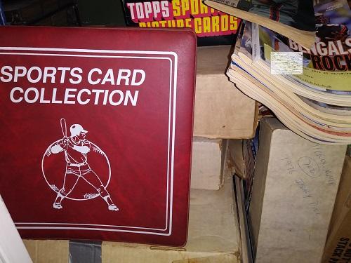 baseball cards closet 1