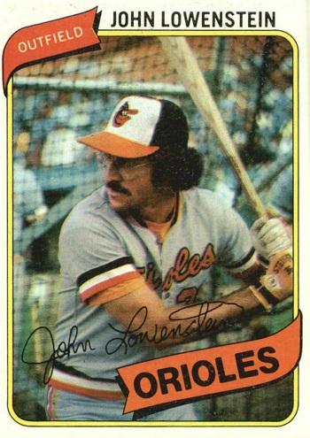 1980 Topps John Lowenstein (#287)