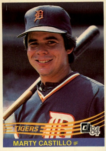 1984 Donruss Marty Castillo (#247)