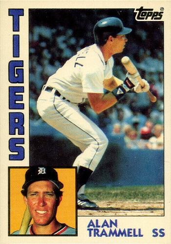 1984 Topps Alan Trammell