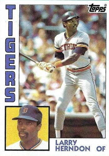 1984 Topps Larry Herndon (#333)