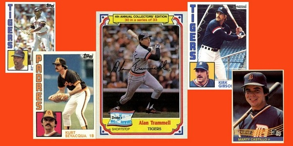 1984 World Series in Baseball Cards … One Per Game!