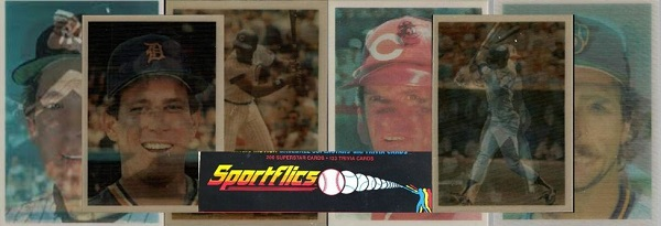 1986 Sportflics Baseball Cards Checklist