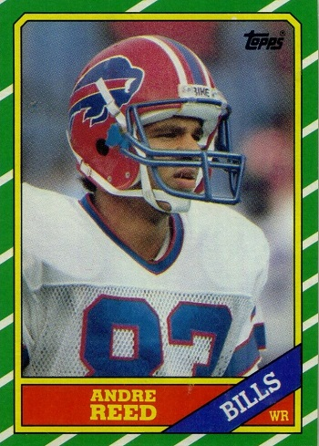 1986 Topps Andre Reed Rookie Card