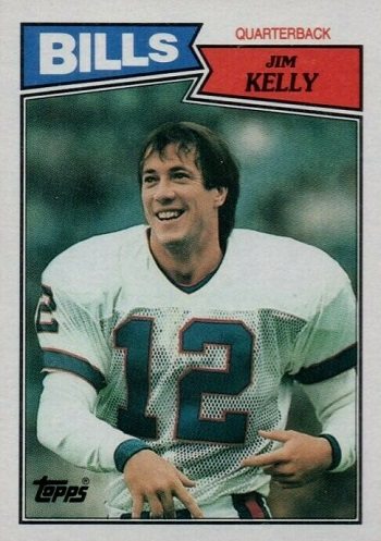 1987 Topps Jim Kelly Rookie Card