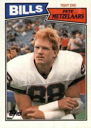 1987 Topps Pete Metzelaars Rookie Card