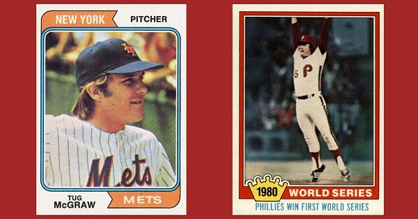 These Tug McGraw Baseball Cards Remember the Importance of December 3