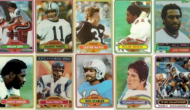 1980 NFL Playoffs in Football Cards — One Per Team!