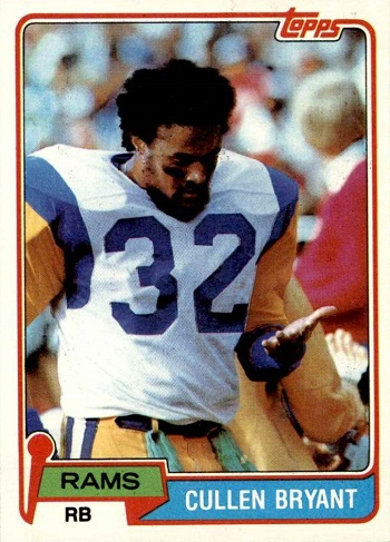 1981 Topps Cullen Bryant