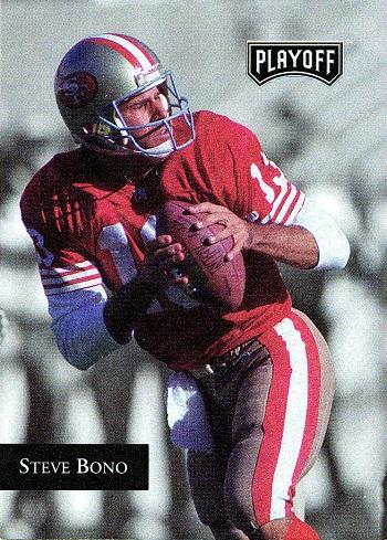 1992 Playoff Steve Bono