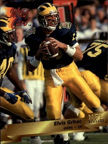 1993 Wild Card Elvis Grbac