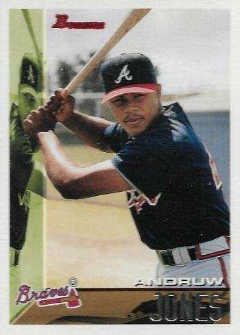 1995 Bowman Andruw Jones