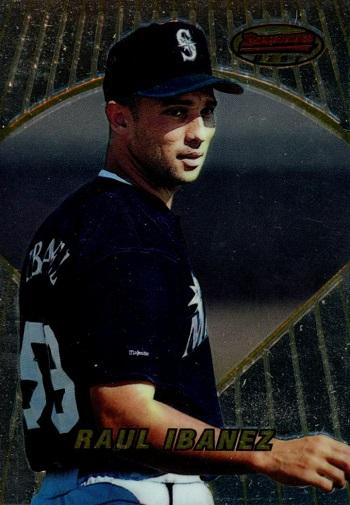 1996 Bowmans Best Raul Ibanez