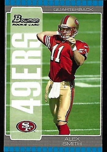 2005 Bowman Alex Smith
