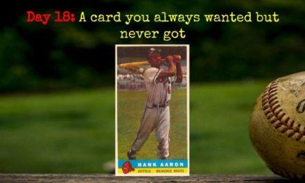 1959 Bazooka Hank Aaron – 2020 Spring Training Challenge Day 18