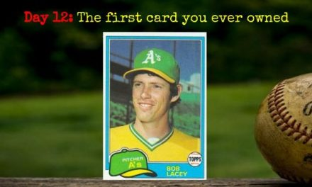 1981 Topps Bob Lacey – 2020 Spring Training Challenge Day 12