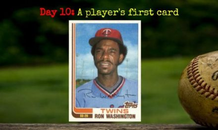1982 Topps Traded Ron Washington – 2020 Spring Training Challenge Day 10