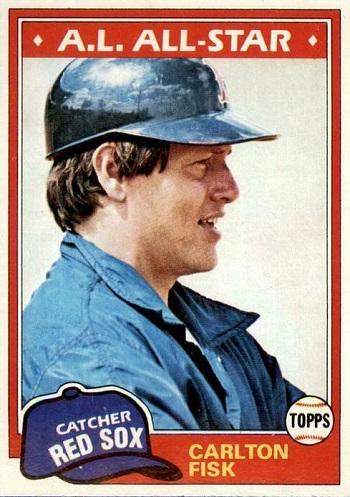 1981 Topps Carlton Fisk
