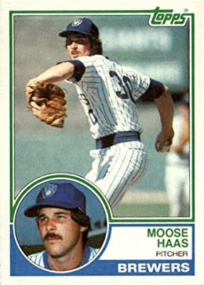 1983 Topps Moose Haas