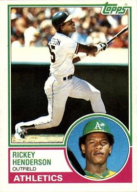 1983 Topps Rickey Henderson
