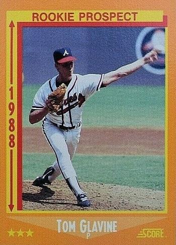 1988 Score Tom Glavine