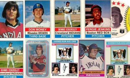 The 9 Degrees of Dennis Eckersley Rookie Cards